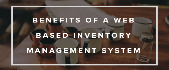 Web based inventory management system