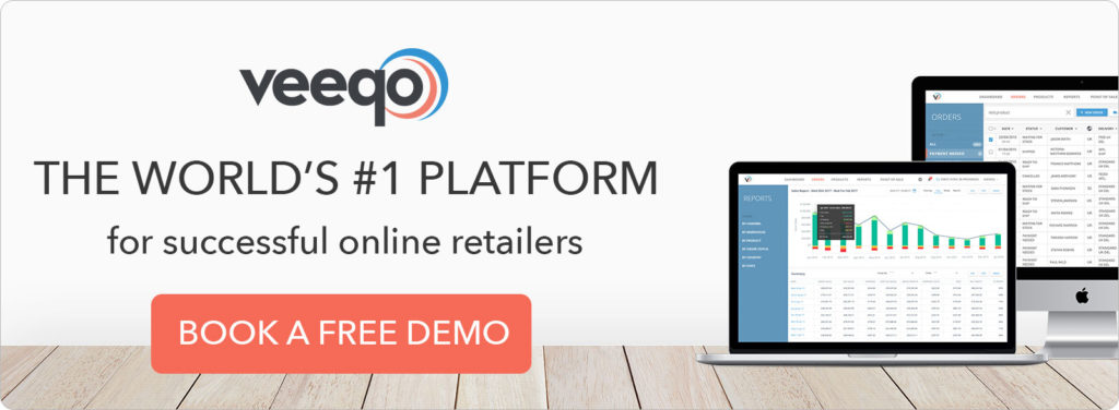 Book a free demo with Veeqo