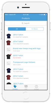 Iphone inventory app to manage inventory on the go