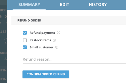 How to manage order returns within Veeqo