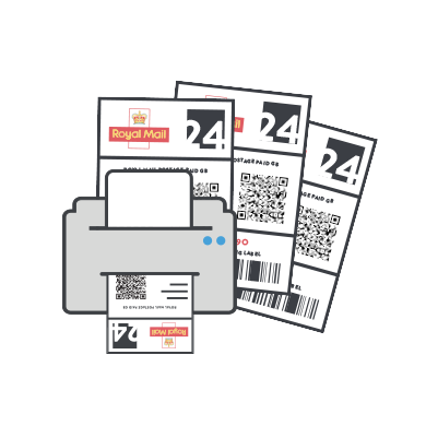 royal mail integration print labels