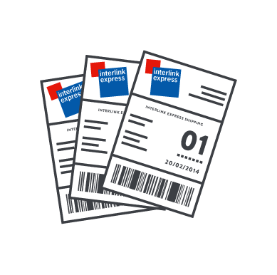 interlink integration and shipping labels