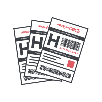 parcelforce shipping labels