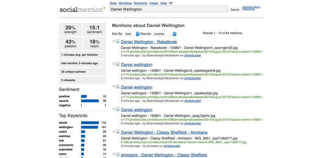 Social Mention and other tools for automating ecommerce customer reviews