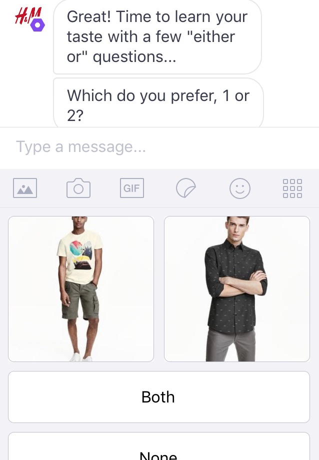 Make 'either or' decisions to choose your top outfits