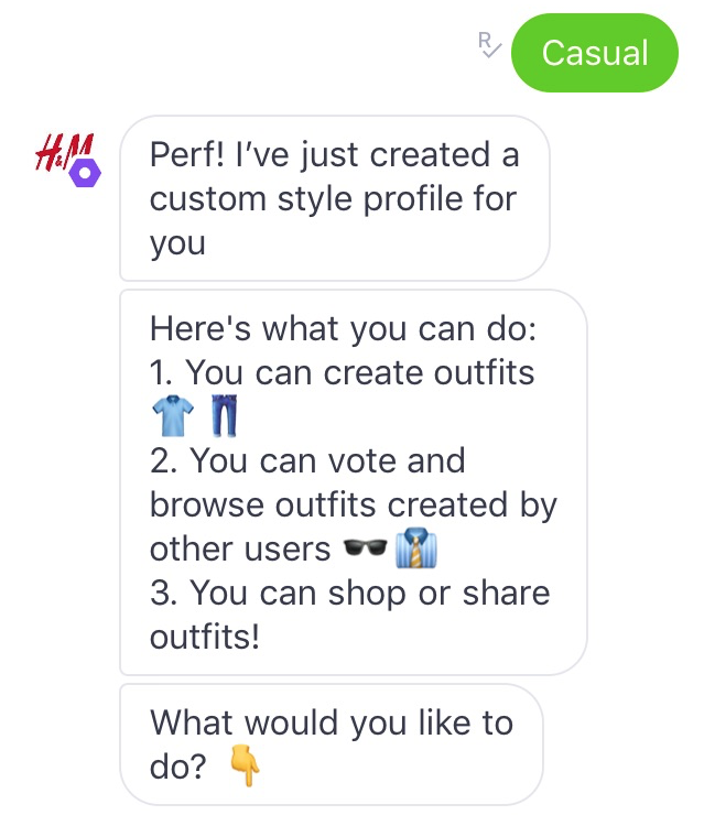 Building your own outfits provides ultimate engagement and commerce potential