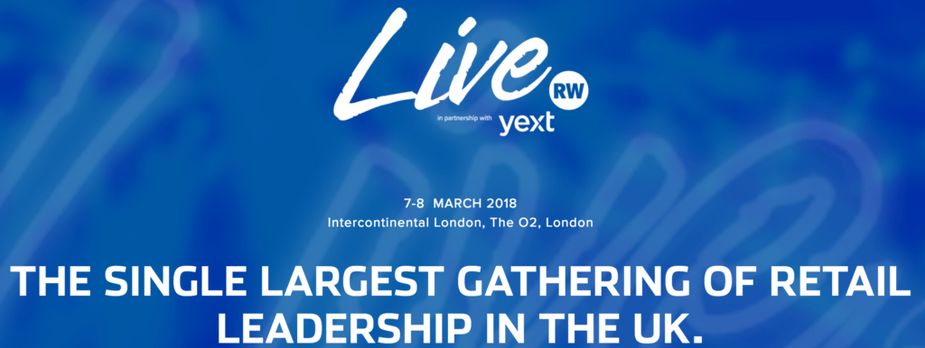 Retail Week Live Commerce Event