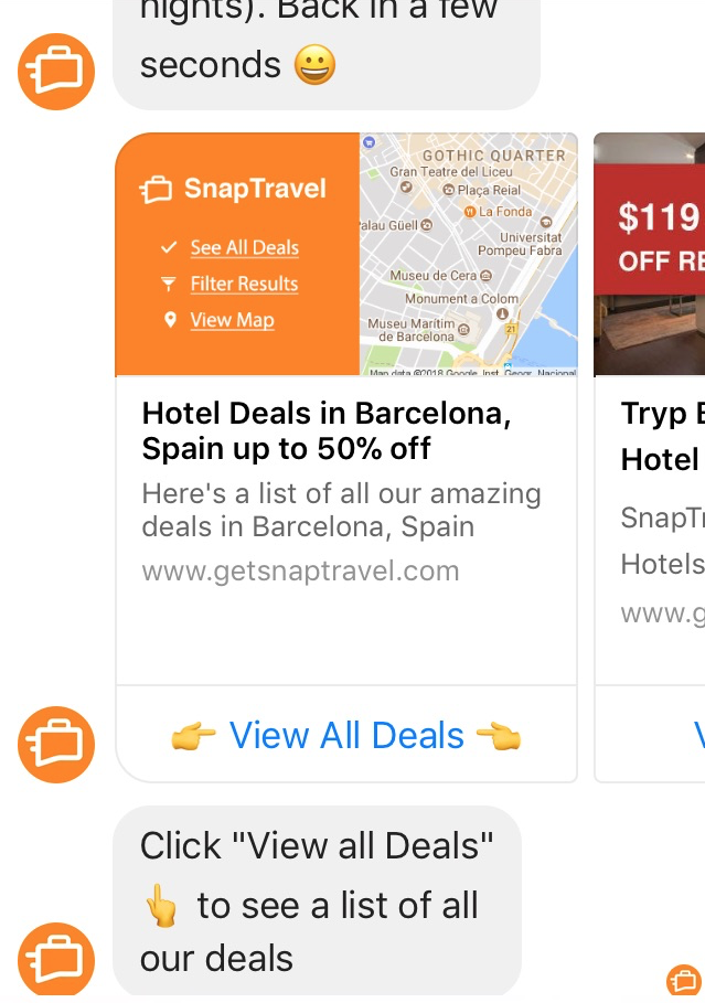 Links provided for best deals on a range of travel and hotel businesses