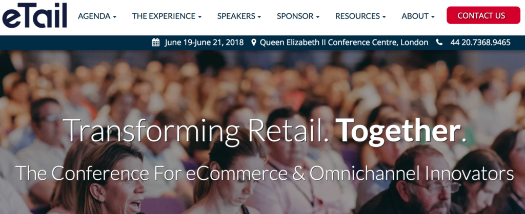 eTail West East Europe Ecommerce Conferences 2018