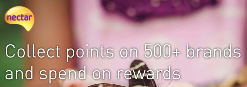 Nectar is a great example of partnered customer loyalty programs