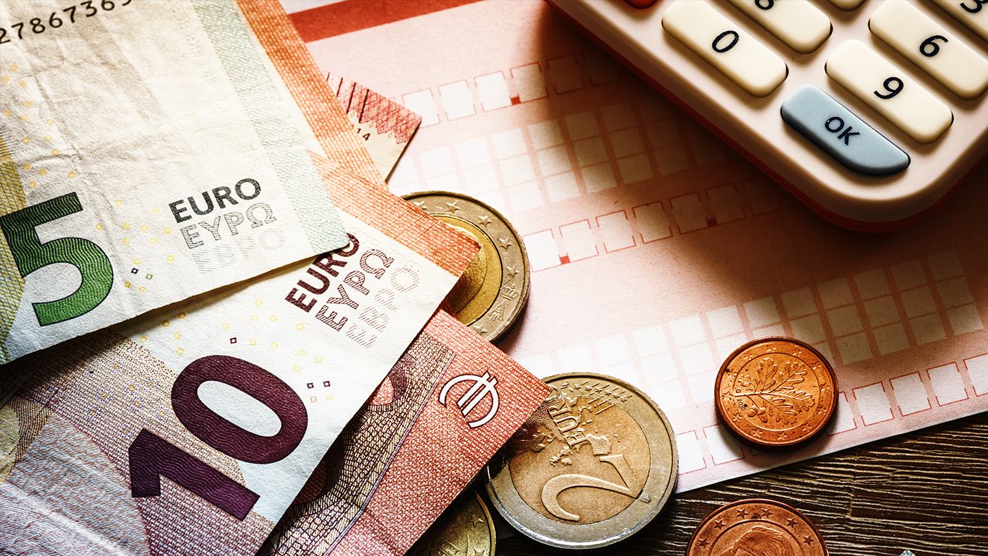 euros calculator and tax form