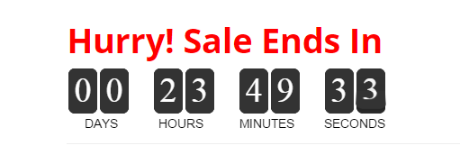 Ecommerce Marketing Automation Countdown Timer