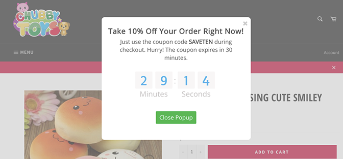 Ecommerce Marketing Automation Offer Countdown Timer