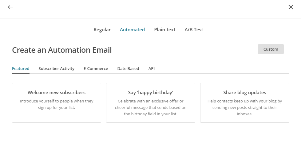 Ecommerce Marketing Automation Mailchimp