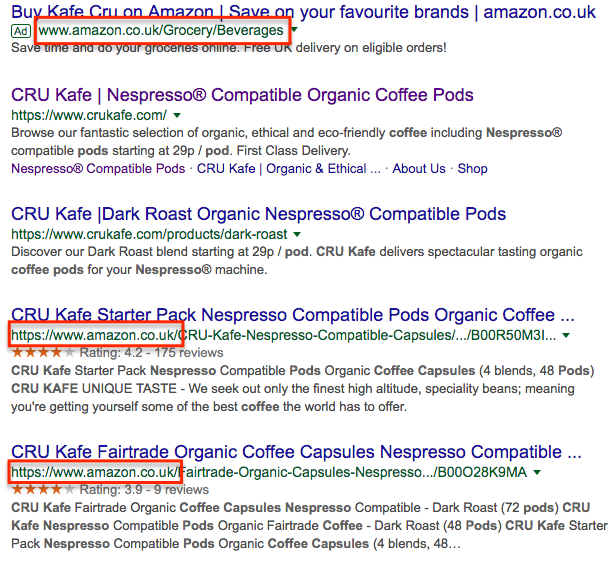 Google Search Cru Kafe Results