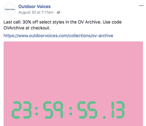 Ecommerce Loyalty Programs Outdoor Voices