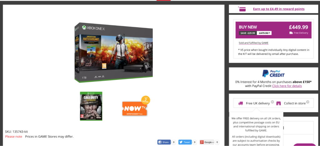 Ecommerce Pricing Strategy Xbox Bundle