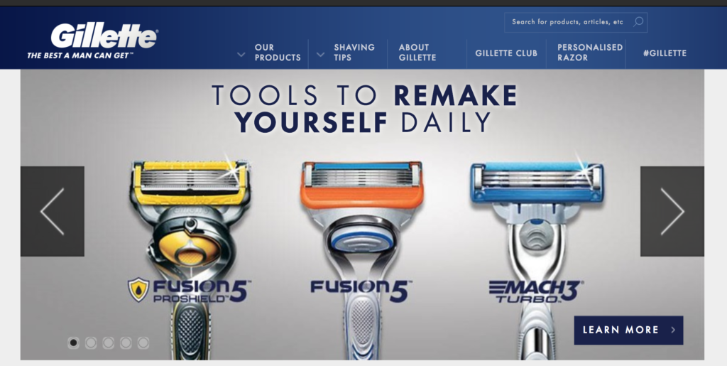 Gillette Ecommerce Pricing Strategies