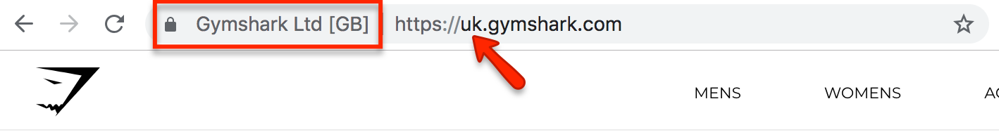 gymshark uk store shopify plus features