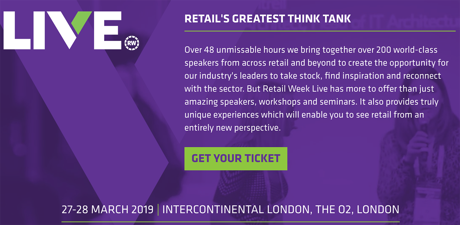 Ecommerce Conferences 2019: Retail Week Live