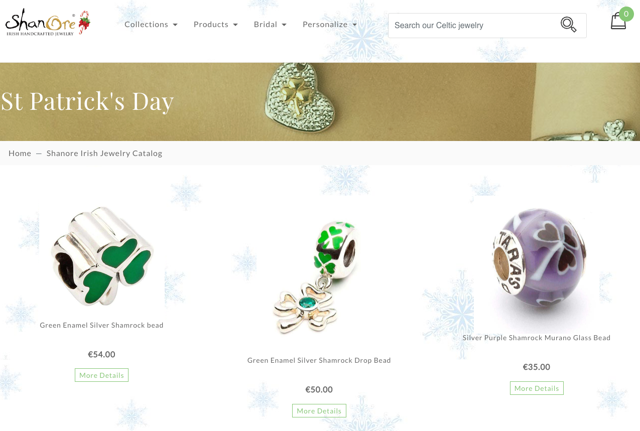Retail Calendar 2019: St Patrick's Day product collection