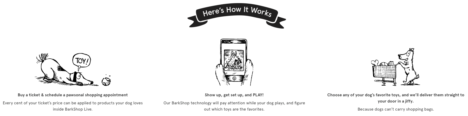BarkShop Live How it Works