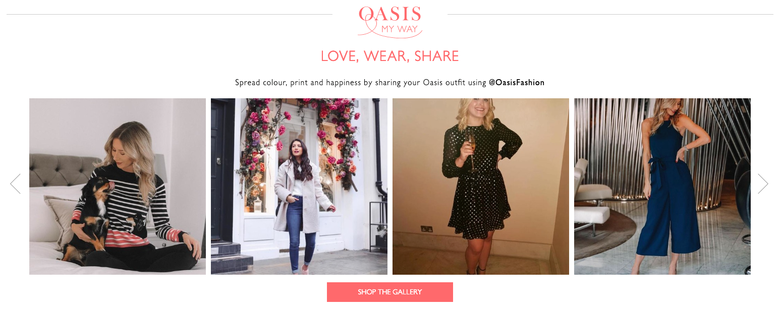 Omnichannel Examples: Oasis My Way
