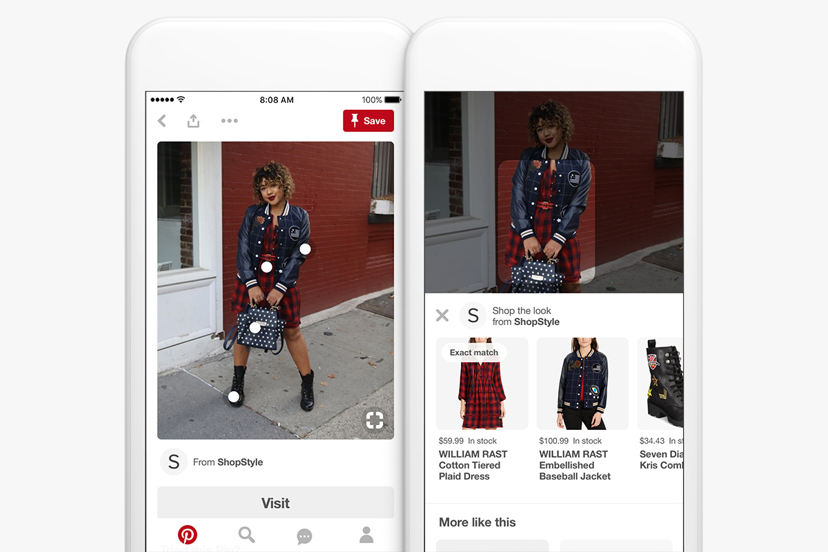 Selling on Pinterest via Shop the Look Pins