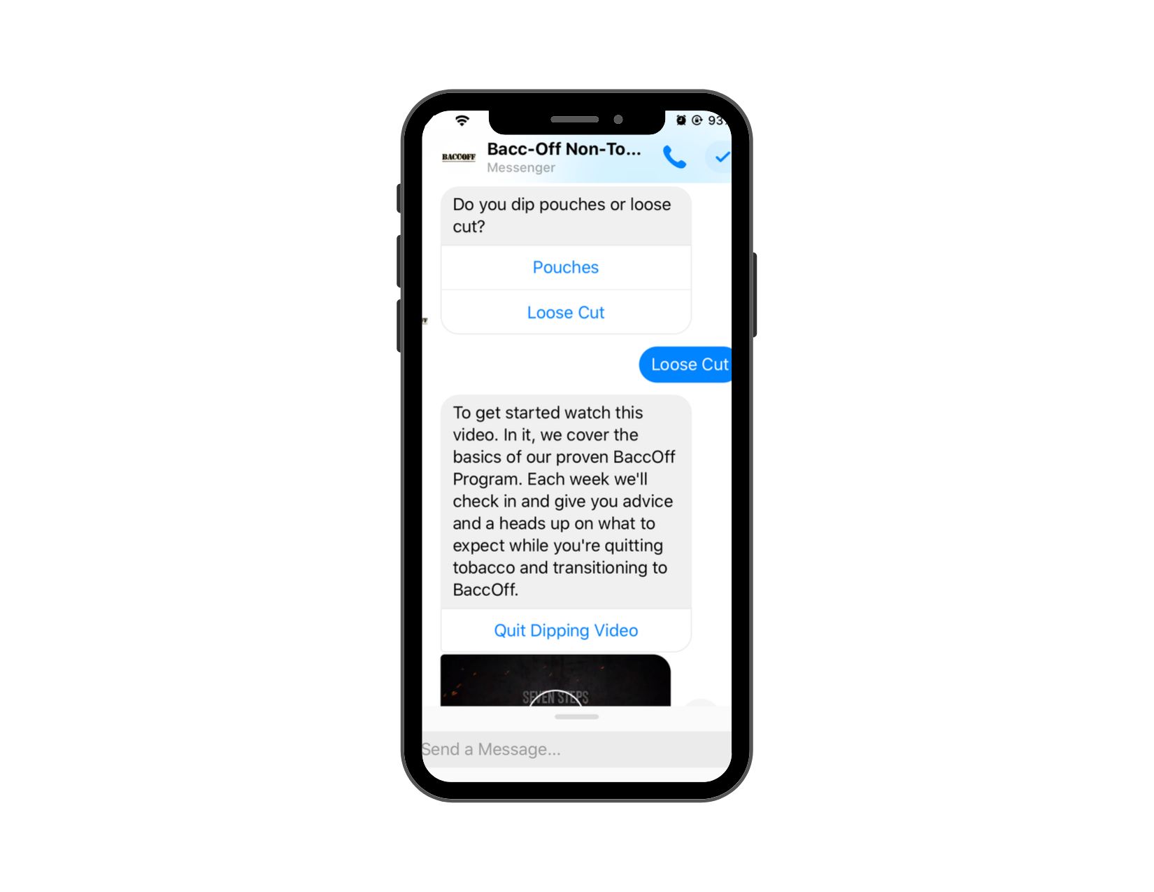 Ecommerce Trends 2020: BaccOff Chatbot Example