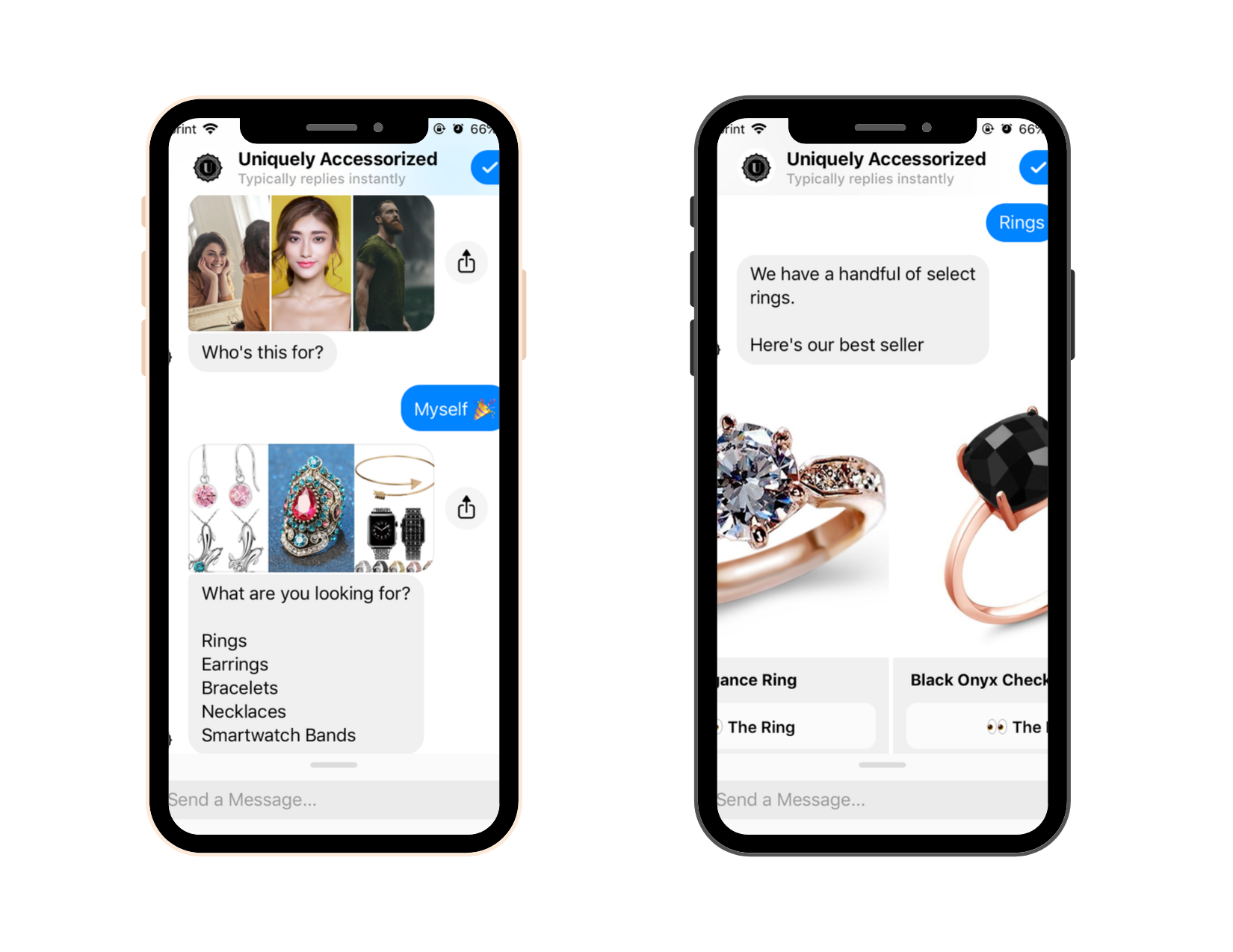Chatbot Examples: Uniquely Accessorized 1