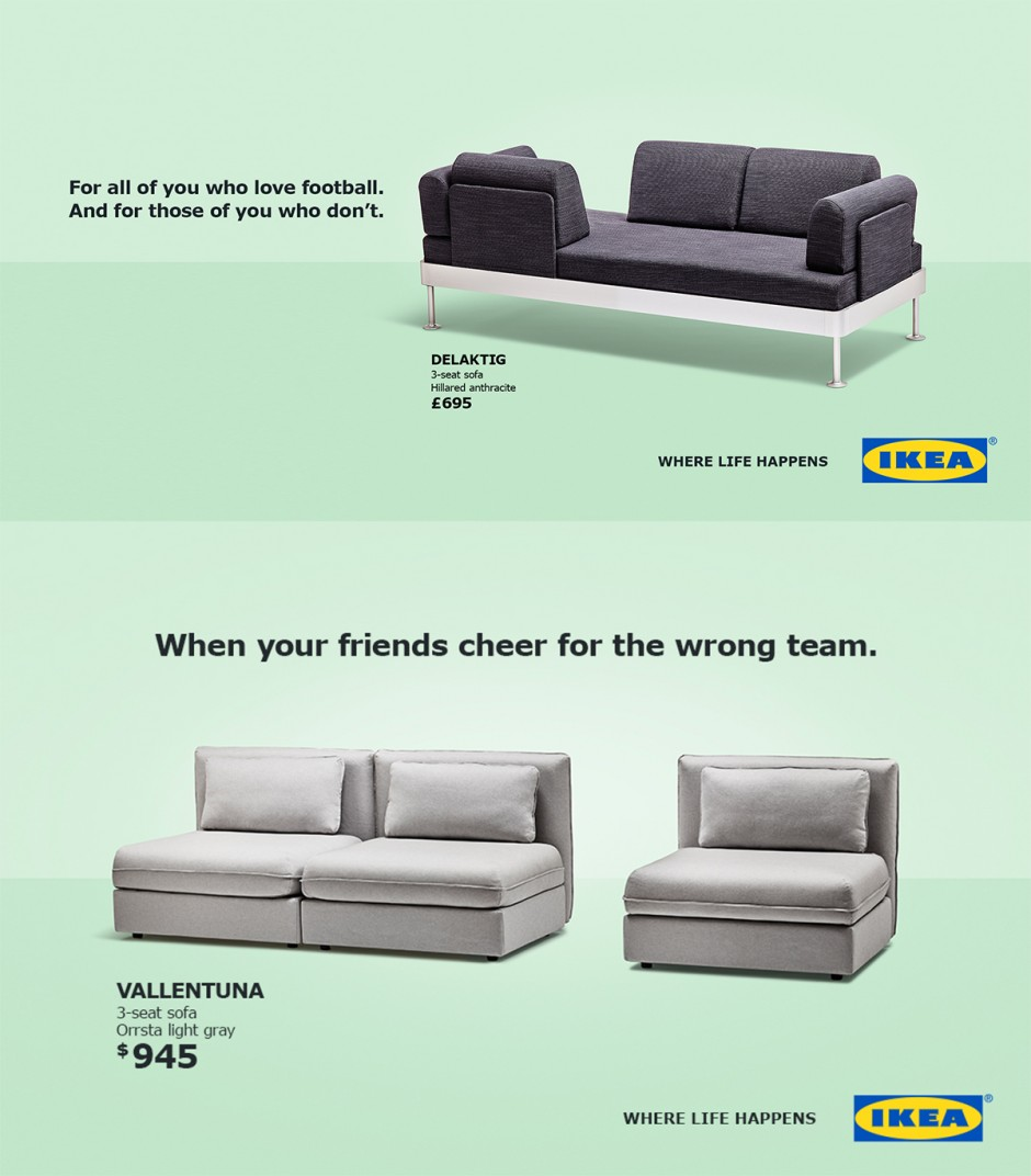 IKEA World Cup Advert