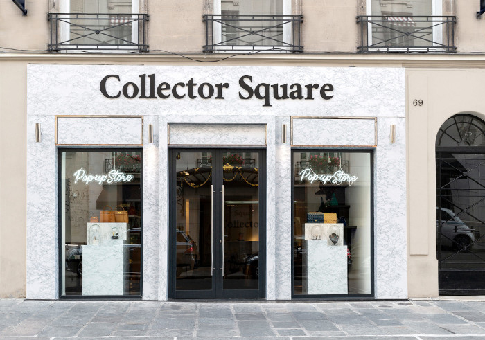 Pop up shop ideas: Collector Square