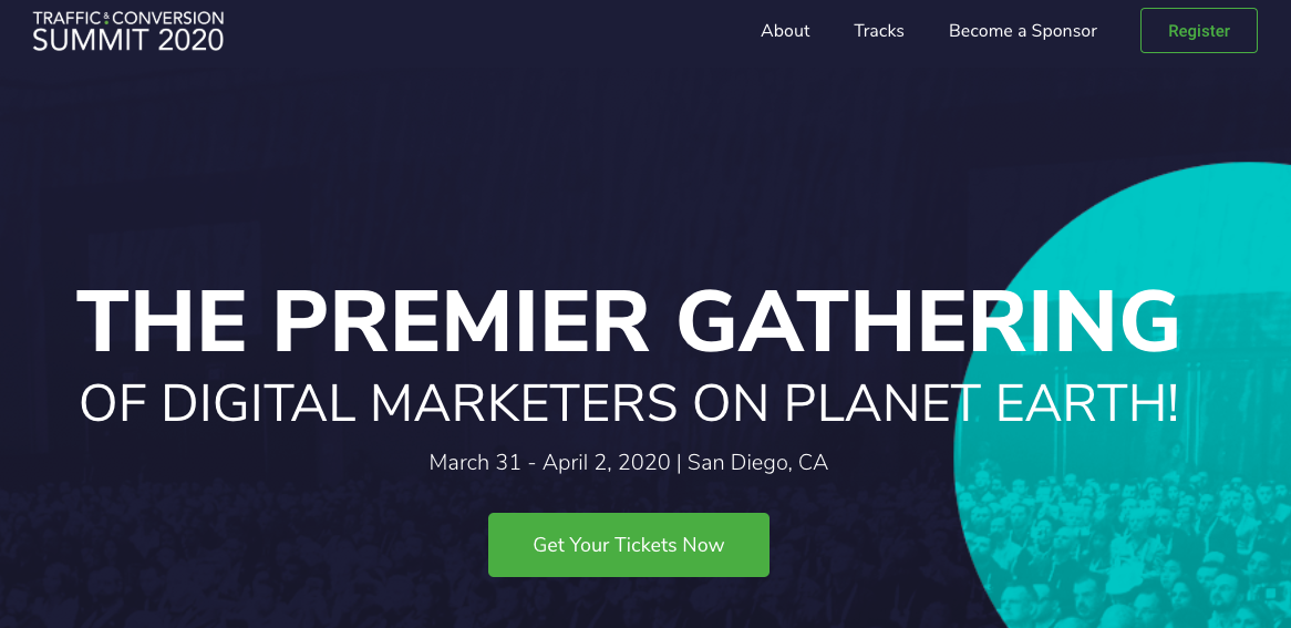 Ecommerce Conferences 2020: Traffic & Conversion Summit