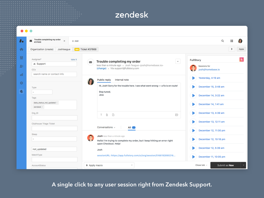 Zendesk shortcut customer support hack