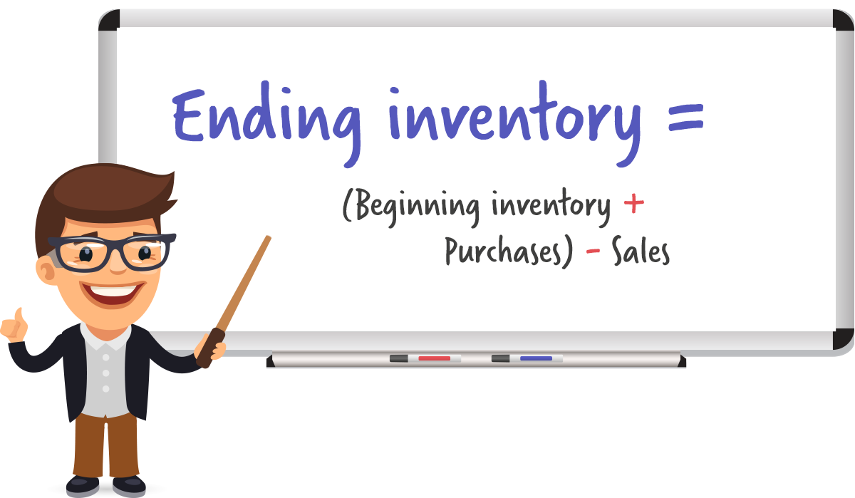 Inventory Accounting: Ending Inventory (EI) = Beginning Inventory + Purchases - Sales