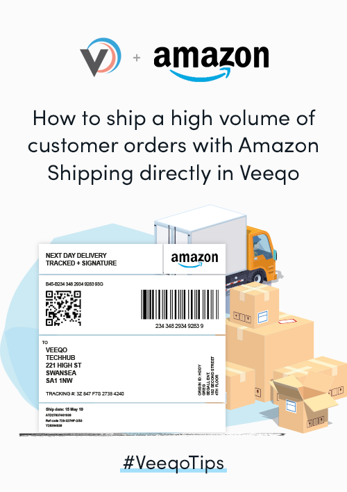 Learn how to ship a high volume of Amazon Shipping orders quickly and accurately in Veeqo with our free PDF guide.